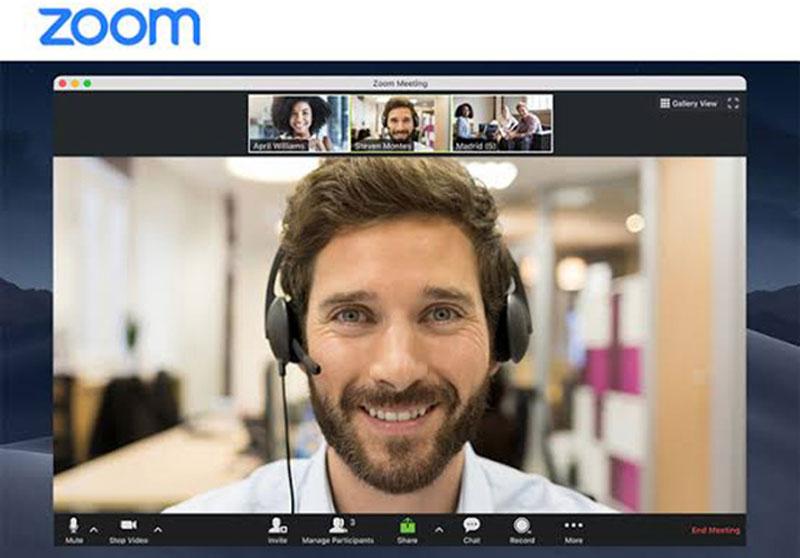Zoom Enkripsi Semua Pengguna