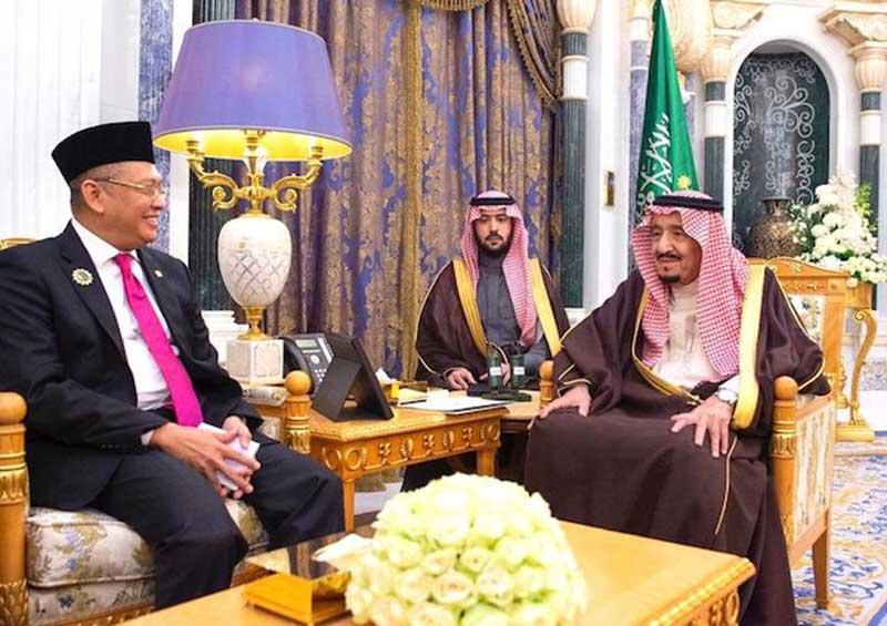 Temui Raja Salman, Ketua MPR Minta Tambahan Kuota Haji