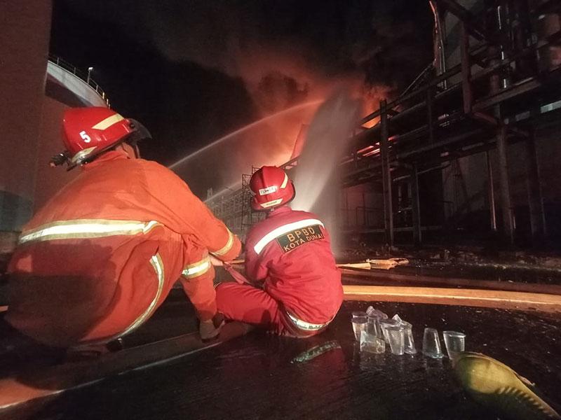 Kebakaran Tangki PT SDO, Kapolres Pastikan Dua Korban Meninggal Dunia