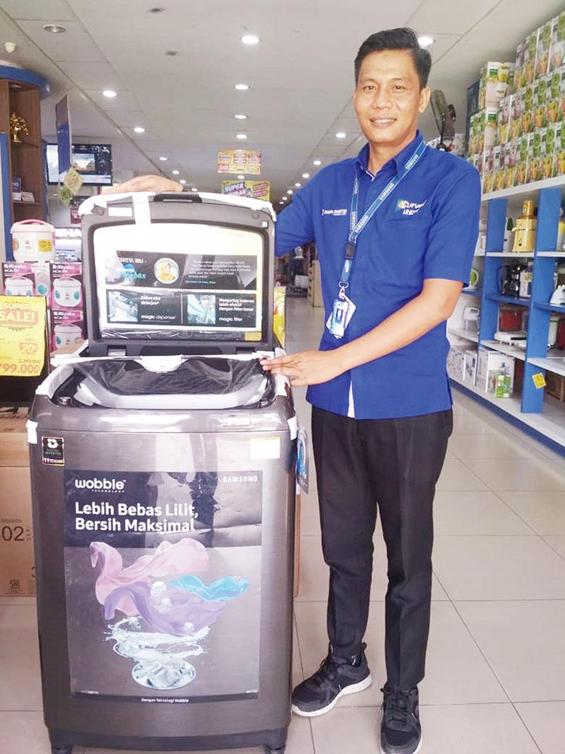 Mesin Cuci Samsung Diskon 30 Persen