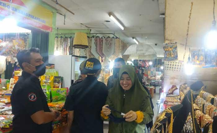 Selalu Diingatkan, Pedagang dan Pengunjung Masih Enggan Pakai Masker?
