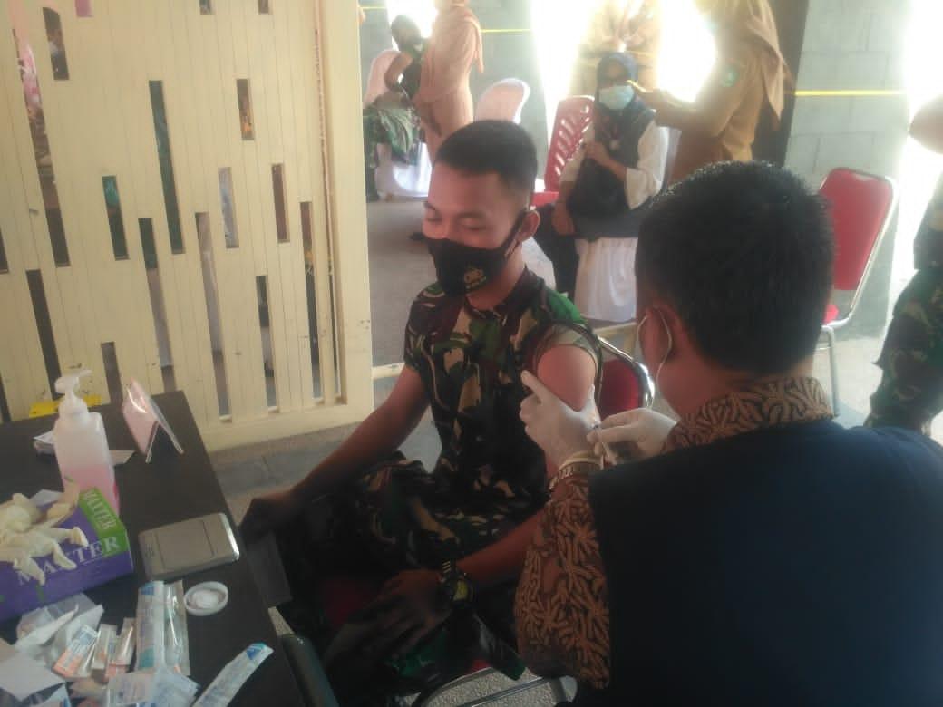 130 Prajurit TNI Divaksin Covid-19 di Bengkalis