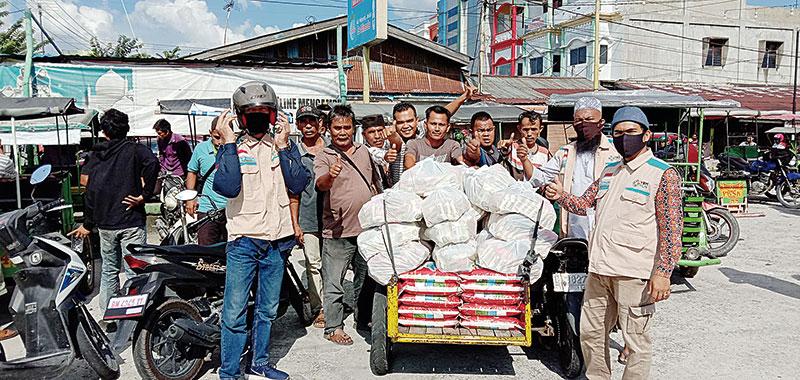 YBM PLN UIP Sumbagteng Salurkan Bantuan