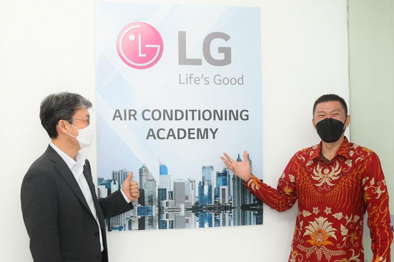 Tingkatkan Kompetensi Tenaga Sistem AC, LG Resmikan Air Conditioning Academy