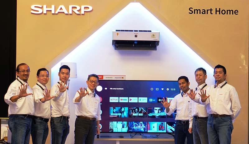 Sharp Indonesia Targetkan Kenaikan Pangsa Pasar di Kategori Smart TV
