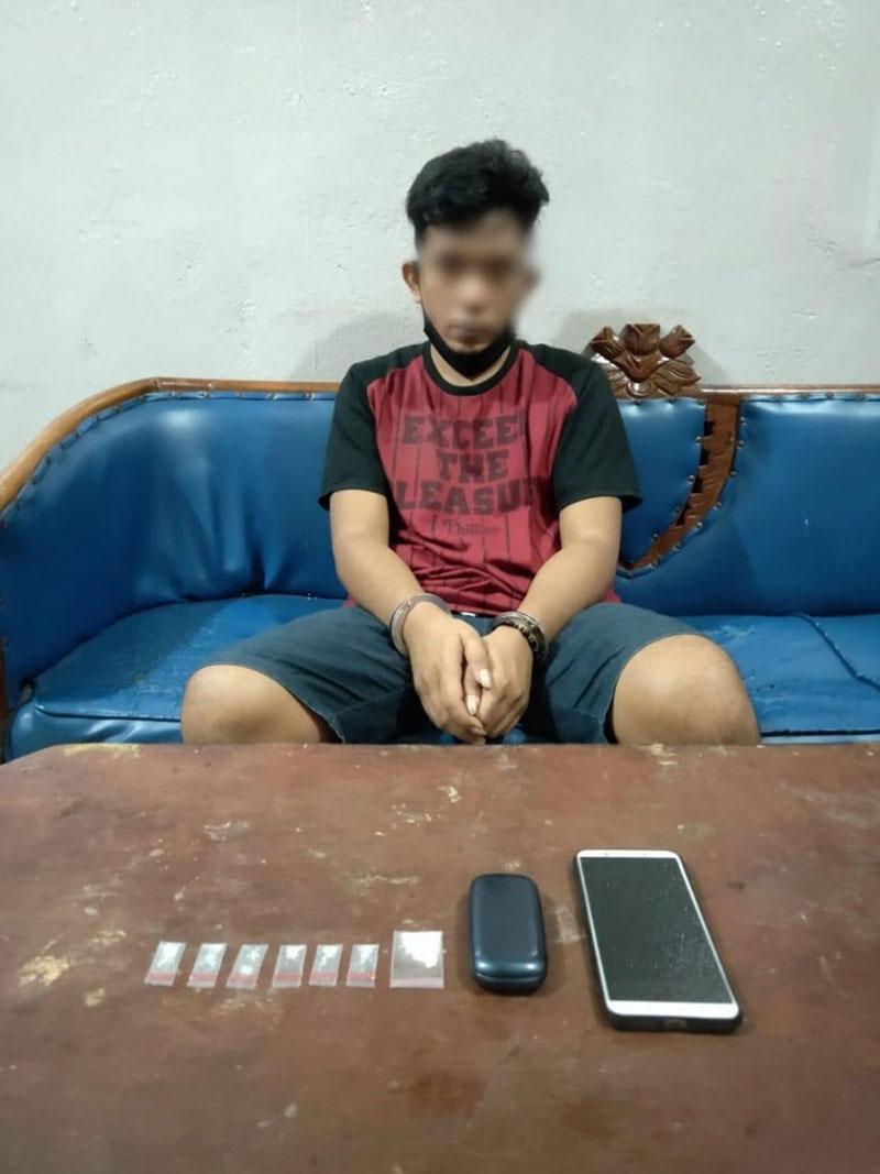 Bandar Sabu Kelas Teri di Duri Ditangkap Polisi