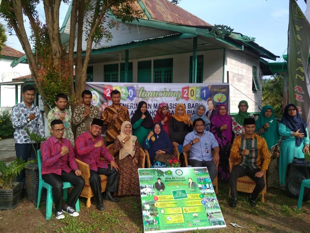 Perdana, STAI Ar Ridho Launching PMB
