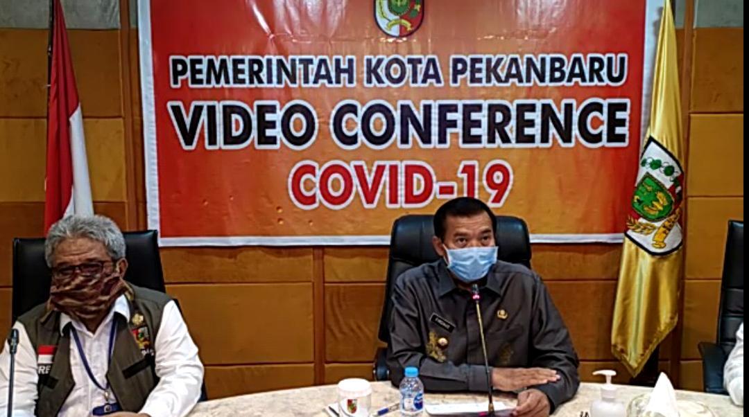Pesan Wako Pekanbaru Hadapi Pandemi Covid-19 Kuncinya Disiplin