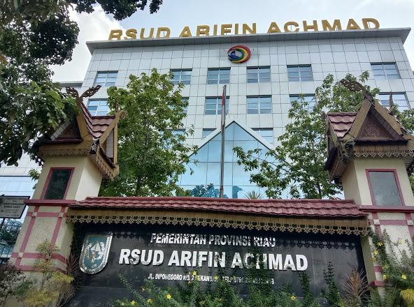 ASN RSUD Arifin Ahmad Meninggal Positif Corona