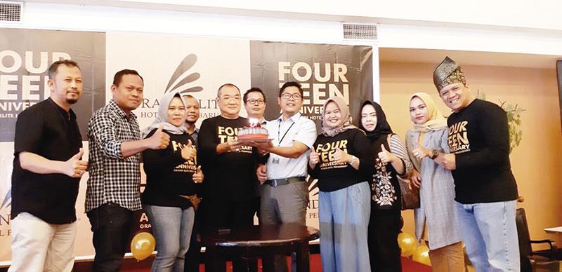 Four Teen Anniversary Grand Elite Hotel Meriah