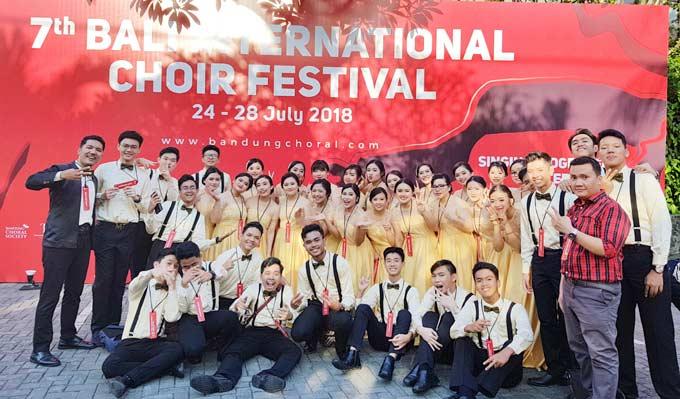 Paduan Suara Darma Yudha Sukses Borong 3 Medali Emas