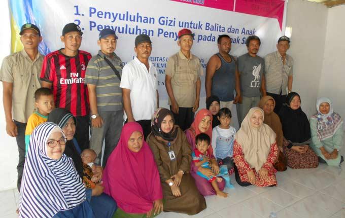 Dosen Unilak Pengabdian Masyarakat di Desa Bukit Agung Siak