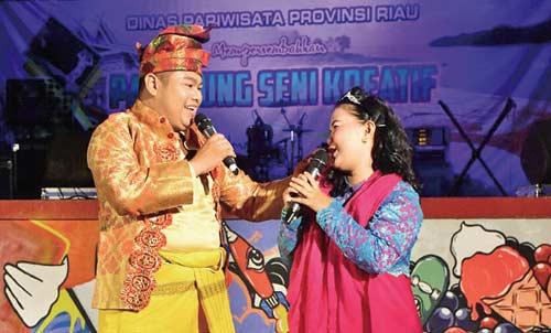 Blacan Art Community Suguhkan Batang Tuaka