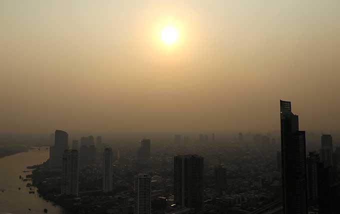 Drop, Kualitas Udara Bangkok Berkabut