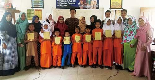 Peringatan Tahun Baru   Hijriah di SD Pahlawan
