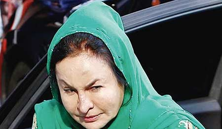 Istri Najib Didakwa