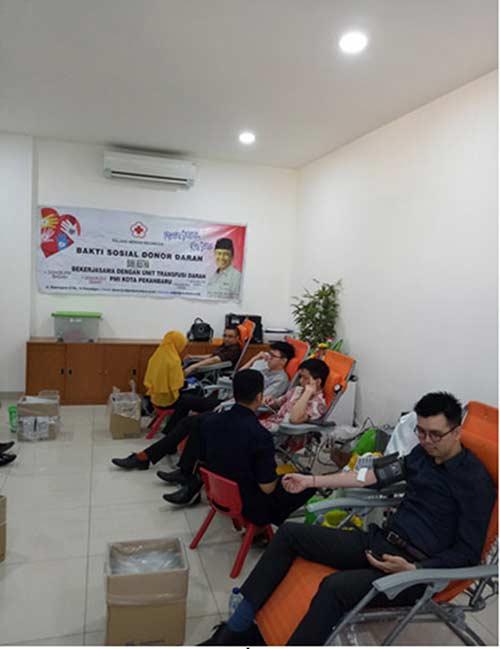 PT Bank Mestika Dharma Gelar Donor Darah