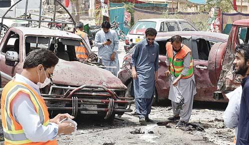 Bom Meledak di TPS, 31 Tewas