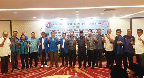 FSPTI Riau Gelar Rapimda