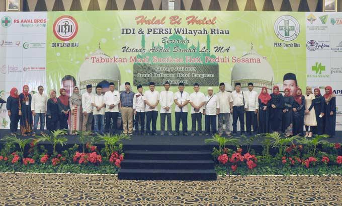 IDI Riau-UAS Galang Dana untuk Suku Akit
