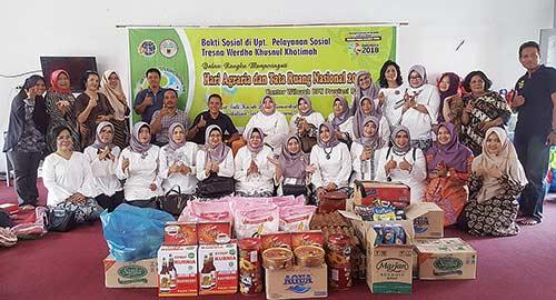 Ikawati BPN Riau Berbagi ke Panti Jompo