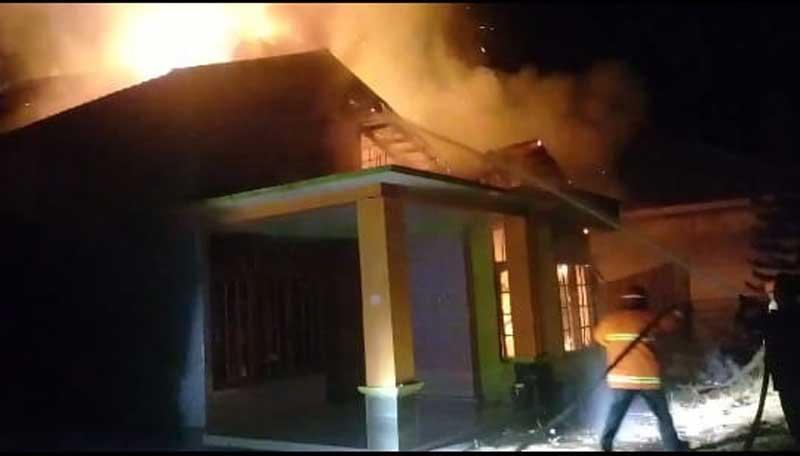 Kantor Terbakar, DPC Partai Hanura Inhu Tetap Lakukan Penjaringan Balon Bupati