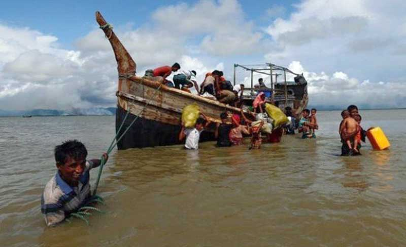 Malaysia Cari 200 Warga Rohingya yang ke Negaranya