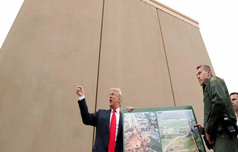 Wow, Perbatasan AS-Meksiko Akan Ditembok
