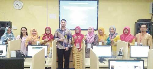 Dosen Unilak Beri Pelatihan bagi Guru SD Se-Kecamatan Rumbai