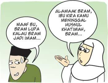 Lupa Jadi Imam