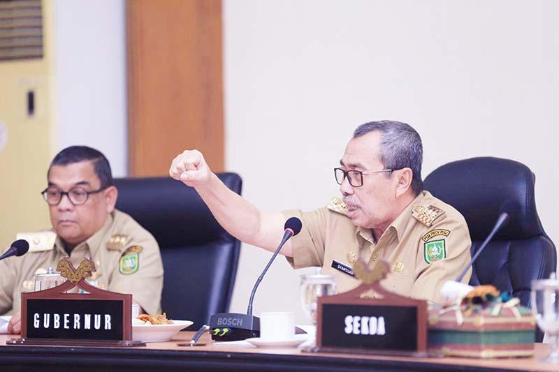 Riau Terbaik Investasi PMDN di Sumatra