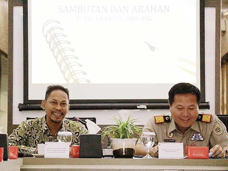 KPKNL Pekanbaru Gelar Rapat Kerja Sertifikasi BMN
