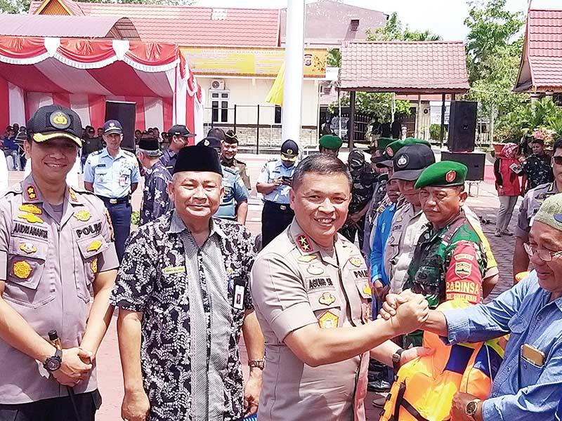 Ajak Jaga Hutan dan Lahan, Kapolda Kunjungan Kerja ke Dumai