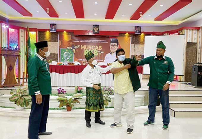Abdul Wahid Hadiri Muscab PKB Inhu