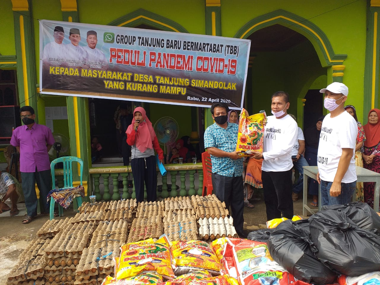 Perantau Tanjung Simandolak Benai Galang Dana untuk Warga Kampungnya