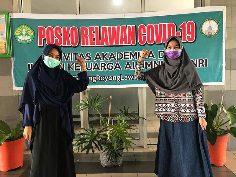 Mahasiswa Kedokteran Unri Jadi Relawan Covid-19