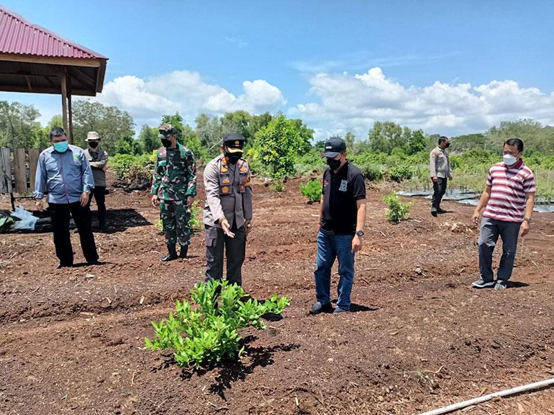 Gubri Tinjau Kampung Tangguh Polres Bengkalis