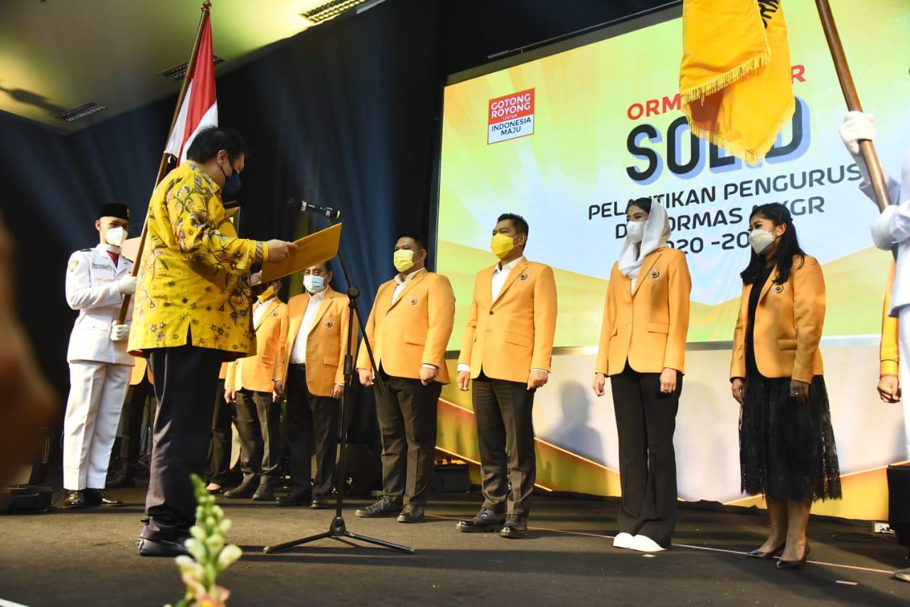 MKGR Solid Dukung Airlangga Hartarto Capres 2024