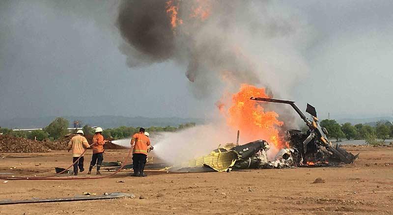 Kecelakaan saat Latihan, Empat Prajurit TNI Gugur