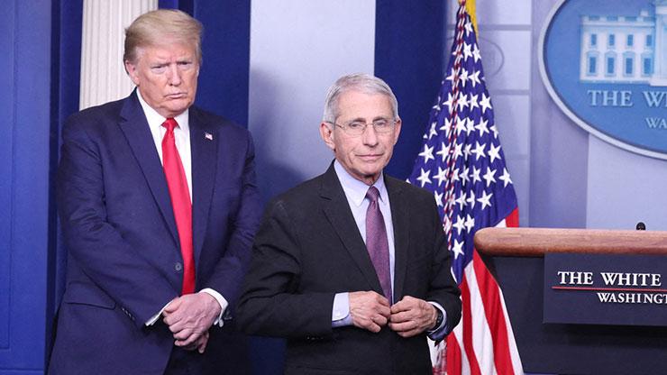 Lucu, Kata Trump: Mengapa Kepala Gugas Corona AS Lebih Populer dari Saya?