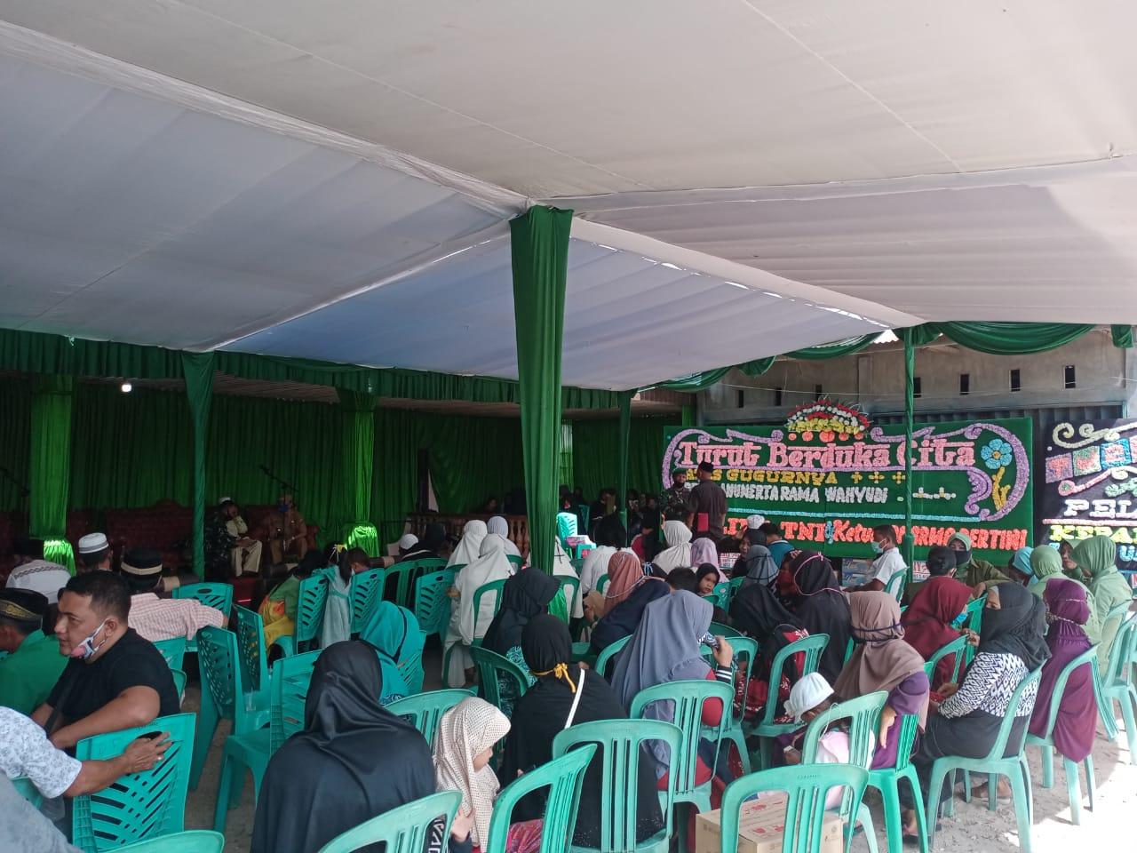 Pelayat Terus Berdatangan ke Rumah Pelda Anumerta Rama Wahyudi di Tapung