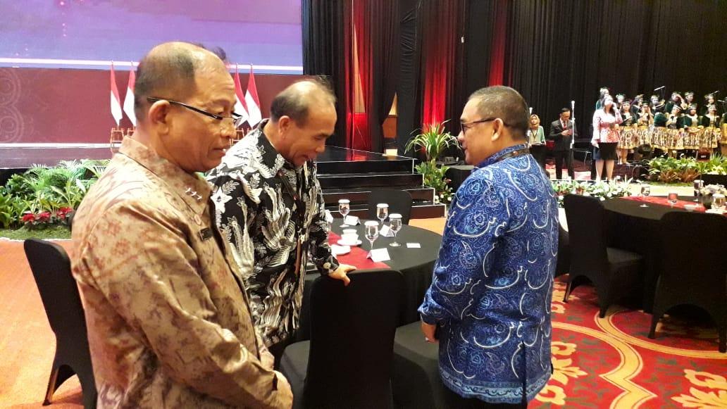 Wagubri Hadiri Pertemuan OJK Bersama Presiden RI