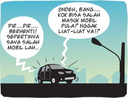 Salah Mobil