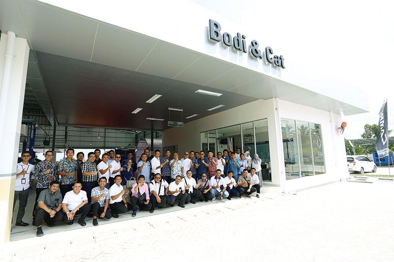 Bengkel Bodi & Cat Hadir di Agung Toyota Duri