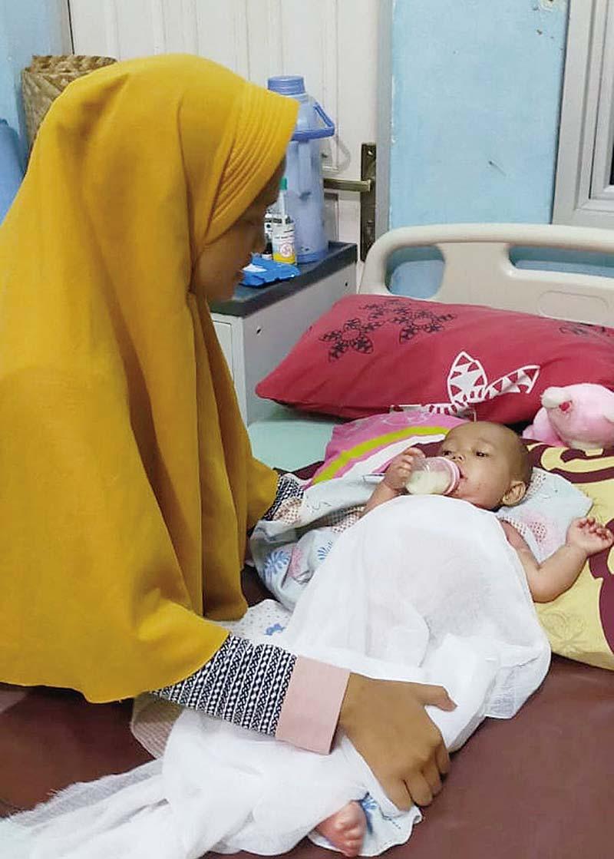 Bayi Penderita Gizi Buruk dan Dermatitis Akhirnya Meninggal