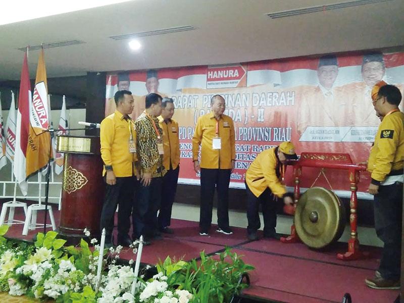 Hanura Riau Dukung Kepemimpinan OSO