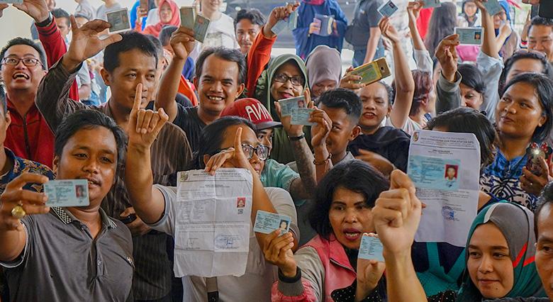 17 TPS di Riau Lakukan PSU dan Lanjutan