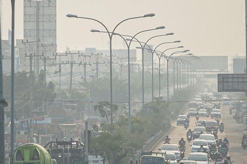 Kekaburan Udara Bukan karena Kabut Asap