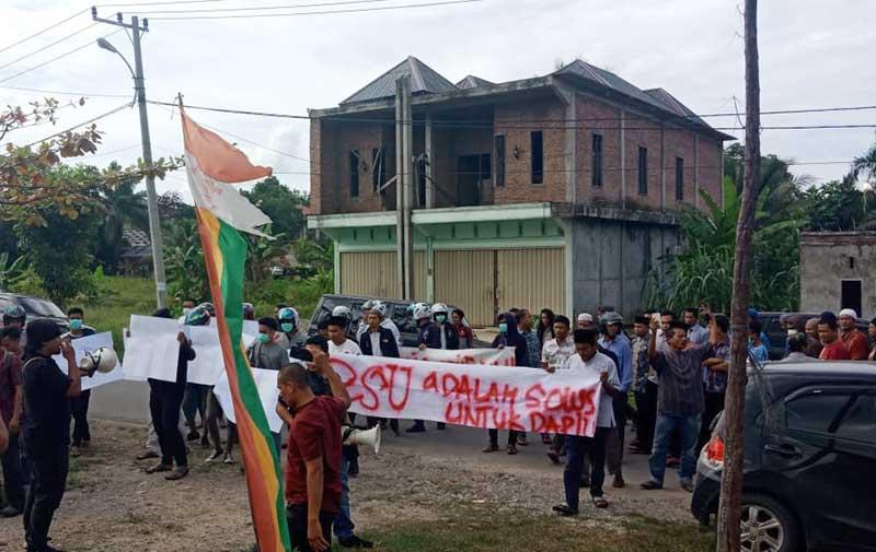 Masyarakat Desak PSU di Dua Kecamatan