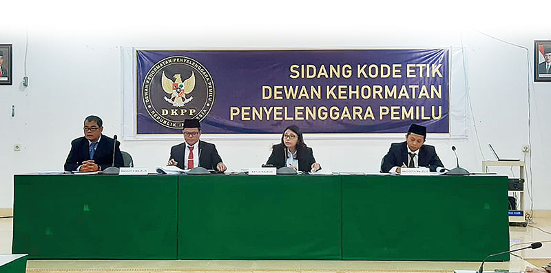 KPU Inhu Hadapi Sidang DKPP